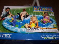 "Intex 57448EP Seascape Play Center Kids Inflatable Pool 77"" x 20"" Age 3+ NIB"