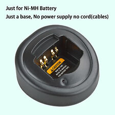 Base no power supply for Motorola MTX8250 Walkie Talkie Ni-MH Battery Charger