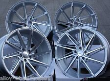 "20"" SMF TURBINE ALLOY WHEELS FITS AUDI A4 A5 A6 A7 A8 Q3 Q5"
