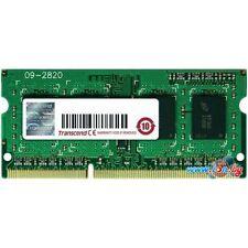 Transcend 4GB DDR3L 1600 ECC-SODIMM CL11 1Rx8 DDR3-1600/PC3-12800 1.35v ECC RAM
