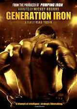 Generation Iron Arnold Schwarzenegger DVD Movie Body Building Documentary DVD