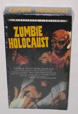 RARE Sealed Zombie Holocaust Movie Video VHS Horror 1980 Sub-Culture Classic