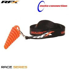 NEW RFX TWOSTROKE EXHAUST WASH BUNG WITH LANYARD FOR KAWASAKI KX125 KX250 1997