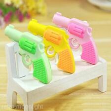 **3 Stücke** Pistole Stil Gummi Radiergummi Radierer Büro Schüler Geschenk