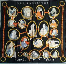 """Sciarpa Foulard Hermès """" Les parisienne""""/ Hermes Silk Scarf """" Les Parisiennes """""""
