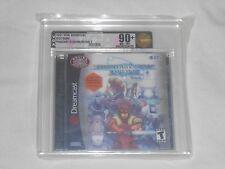 NEW Phantasy Star Online Ver 2 Sega Dreamcast VGA 90+ NM+/MT UNCIRCULATED Gold