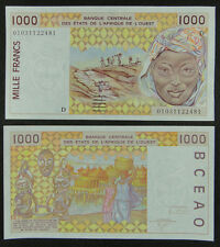 WEST AFRICAN STATES MALI (P) Banknote 1000 Francs UNC