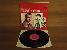 VICS 1340 : The Art of Lawrence Tibbett : Electronic Stereo : NM