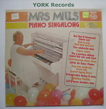 MRS MILLS - Piano Singalong - Excellent Condition LP Record MFP 50009