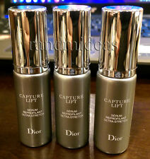 3 Of Dior CAPTURE Lift Ultra-Stretch Reshaping Serum 7ml-Miniature Size-All NEW