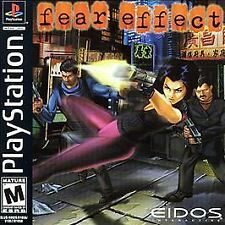 Fear Effect Playstation PS1 Game 4 Discs, Case, Instructions  Mint Condition