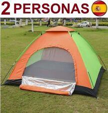 TIENDA DE CAMPAÑA PARA 2 PERSONAS IMPERMEABLE CAMPING CARPA SUPER OFERTA