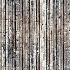 (1m²=32,01€) BUSCH 7420 H0 2 Dekorplatten, verw. Holzbretter, 210 x 148 x 0,6 mm