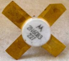 Transistor RF 2N6083 30W a 175 MHZ
