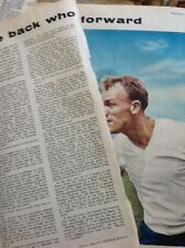 L1-6 Ephemera 1959 Picture Article West Brom Football Player Don Howe