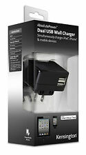 IPAD 2 / 3 / 4 AIR USB WALL MAINS PLUG CHARGER DUAL USB 4.2 AMP UK EU US PLUG