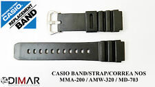CASIO ORIGINAL BAND/STRAP/CORREA NOS  FOR CASIO MMA-200/AMW-320/MD-703