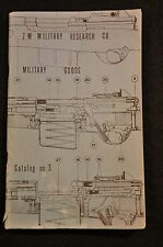 1950s ERA 'Z M MILITARY RESEARCH CO - CATALOG 3' SURPLUS TREASURES FOR PENNIES