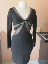 Robe Crayon/Moulante Noir BCBG MAX AZRIA Very Slim Black Dress - XS