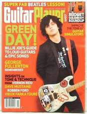 GUITAR PLAYER MAGAZINE GREEN DAY BILLIE JOE ARMSTRONG VERNON REID DAVE MUSTAINE