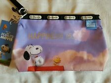Lesportsac x Peanuts Movie Happiness Is Essential Wristlet 8236 sold out