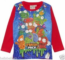 "BOY/GIRL'S FULLY LICENCE ""THE TRASH PACK"" LONG SLEEVE TOP2 3 4 5 6 7 8Y"