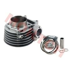 GY6 150cc Cylinder Assy (57.4mm) Include Aluminum Cylinder Piston Rings And Pin