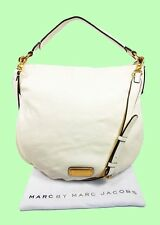 MARC JACOBS Q HILLIER Leche Leather Hobo/Shoulder Bag Msrp $428.00 *FREE S/H*