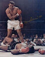 5 Photos Mohammed Ali Pré-imprimé 3 Signé Dédicacé Cassius Clay Boxe Champion