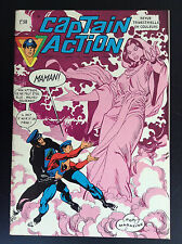 Captain action N° 4 1972 Aredit PROCHE DU NEUF