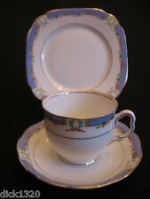 "ART DECO ROYAL ALBERT ""ORIENT"" Cina # 5799 TAZZA / PIATTINO / PIASTRA TRIO C. 1927-EX"