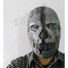 Dishonored Corvo Attano Mask Latex Robot Halloween Steam Punk Costume Party