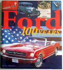 FORD 100 YEARS MIKE MUELLER CAR BOOK