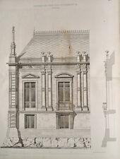 Heinrich Burnitz Frankfurt Villa Reiss Architekt Klassizismus Giebel Fenster