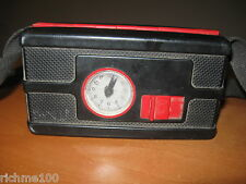 VTG 60's Germany Train Tram Conductor Security Guard Portable Ticket Machine