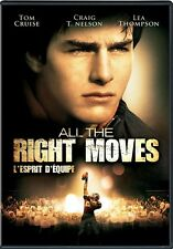 DVD - Action - All The Right Moves - Tom Cruise - Craig T. Nelson - Lea Thompson