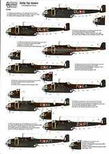 Authentic Decals 1/72 HANDLEY PAGE HAMPDEN British WWII Bomber