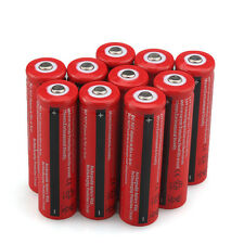 10PCS BRC Li-ion lithium 18650 Battery 4000mAh 3.7V Rechargeable Batteries USA
