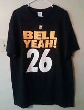 LeVeon Bell Pittsburgh Steelers Adult X-Large T-Shirt Non Jersey / Auto