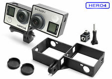 3D Frame & Tripod Mount for GoPro Go Pro HD HERO 4  Black Accessory Adapter- USA