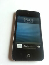 Apple iPod Touch 4 ° Gen Nero (8GB) FUNZIONANTE CON ACCESSORI IDEA REGALO