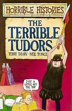 NEW - TERRIBLE TUDORS    HORRIBLE HISTORIES (OLD COVER)