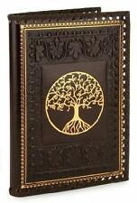 TREE OF VALINOR BROWN GILT EMBOSSED LEATHER JOURNAL Tolkien LORD OF THE RINGS