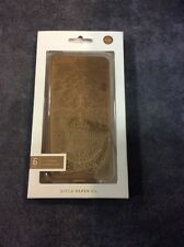 RIFLE PAPER CO GOLD LACE IPHONE6 PLUS RUBBER INLAY HARD CELLPHONE CASE COVER
