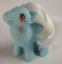 HTF 1984 My Little Pony Baby STRIPES - Rare, Blue, White Hair, Bumble Bees