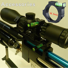 """Rifle Scope Metal Alloy Bubble Level For 25.4mm/1"""" Ring Mount Holder"""