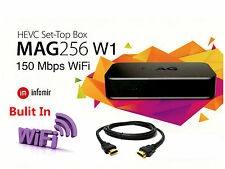 MAG 256W1 IPTV Set-Top-Box BRAND NEW MAG256W1 by INFOMIR Built-in WIFI HDMI Inc