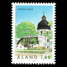 Aland 1991 - The Vardo Church Architecture - Sc 40 MNH
