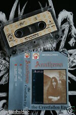 ANATHEMA - Crestfallen EP MC tape RARE POLISH PRESS 1991