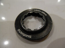 Shimano Centerlock Disc Brake Rotor Lock-Ring/Lockring Genuine New BLACK